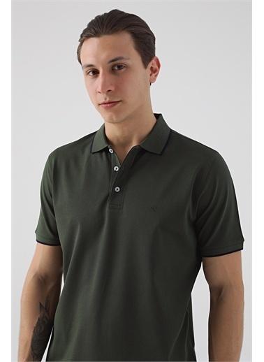 Damat 60/2 Merserize T-Shirt Haki